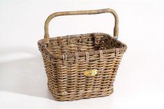 Nantucket Bike Baskets Tuckernuck Rattan Basket Large Rectangle AMBA Marketing