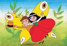 Maková panenka a motýl Emanuel