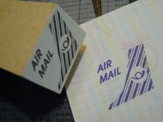 Airmail stamp 69