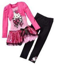Tunique 2en1 + leggings Hello Kitty
