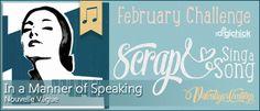 Scrap&SingASong Challenge - February 2014