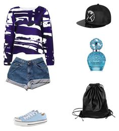 """""""Risky Lullaby"""" by risky-puspita-ekasari on Polyvore featuring C/MEO COLLECTIVE, Converse, Marc Jacobs and Xenab Lone"""