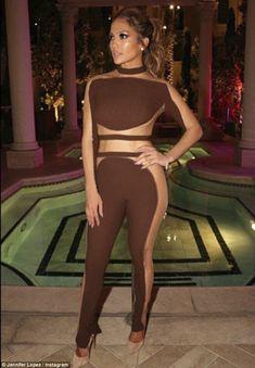About last night: Jennifer Lopez celebrated her 47th birthday in Las Vegas, Nevada, on Saturday evening