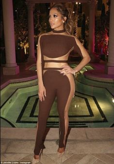 About last night: Jennifer Lopez celebrated her 47th birthday in Las Vegas, Nevada, on Saturday evening