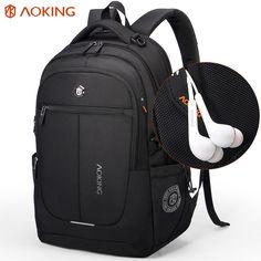 74915b5fc549 Aoking Brand Men Backpack Light Comfort Fashion Urban Backpack for 15 inch  Laptop Breathable Rucksack Mochila