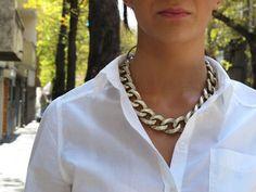 chunky necklace ...