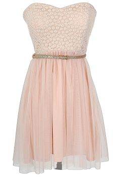 Boho Glam Dress in Pink