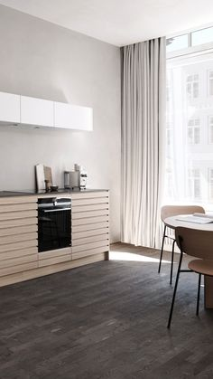 Wooden Kitchens, Light Oak, Kitchen Inspiration, Contemporary, Home Decor, Interior Design, Home Interior Design, Home Decoration, Decoration Home