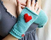 cute heart gloves!