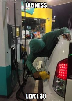 How to pump gas.lol