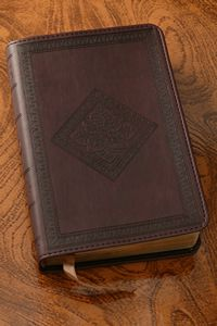 Chestnut Diamond Design Compact Bible-ESV $24.99 http://www.celebrateyourfaith.com/Chestnut-Diamond-Design-Compac-P13903C150.cfm