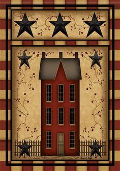 Best Primitive pictures ideas on Primitive Homes, Primitive Stars, Primitive Folk Art, Primitive Crafts, Primitive Country, Primitive Decorations, Primitive Christmas, Americana Decorations, Primitive Fireplace