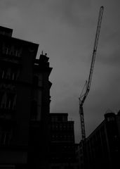 Großstadt Baustelle