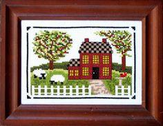 Home is Best - Cross Stitch Pattern