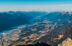 Gailtal by edvardstorman-badri  Austria Gailtal cold dolina fields forest mountains river sky snow valley winter Ziljska Gailtal edv