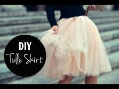 1 MIN TUTORIAL | DIY Tulle Skirt