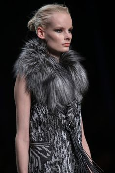 Roberto Cavalli Fall 2014 inspired G. Levin / Touch of Flame 1 http://fqoto.com/fqoto-aw2014-15-009-g.-levin--touch-of-flame-1.html