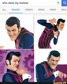 Image result for robbie rotten memes