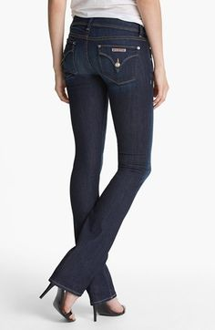 """Beth"" baby boot cut (Stella) jeans Worn and wahed once. Very comfortable. Baby Boots, Hudson Jeans, Signature Style, Jeans Style, Stretch Denim, Spring Outfits, Jeans And Boots, Blue Jeans, Perfect Fit"