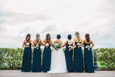 Danielle & Marco had such a beautiful blush & navy wedding at Eagle Creek Golf Club. Their luxury wedding was one of dreams. Navy Bridesmaid Gowns, My Wedding Planner, Floral Event Design, Wedding Costs, Enchanted Garden, Orlando Wedding, Bridal Hair And Makeup, Bridal Looks, Luxury Wedding