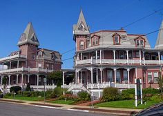 Historic Angel of the Sea Bed & Breakfast, Cape May, New Jersey. You can see Cape May beach from the third floor