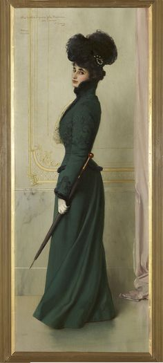 Vittorio Corcos, Yole Biaggini Moschini, 1901