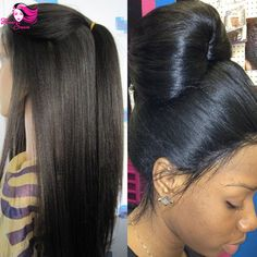 4x4 Glueless Silk Top Full Lace Wigs Light Yaki Brazilian Virgin Hair Full Lace Human Hair Wigs Yaki Straight For Black Women-in Human Wigs from Health & Beauty on Aliexpress.com   Alibaba Group