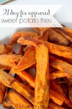 21 day fix sweet potato fries
