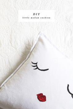 Diy coussin Little Madame