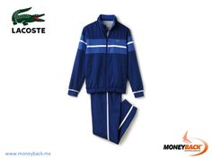 MONEYBACK MEXICO. Specially designed for playing tennis this LACOSTE tracksuit is made of great quality taffeta. You'll feel great in any sport day. Shop LACOSTE in Mexico and get a Moneyback tax refund! #moneyback www.moneyback.mx