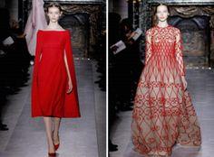 El color rojo perfecto para vestidos de invitadas de boda - foto Valentino