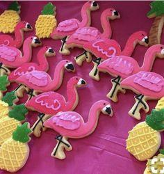 Bolacha de flamingo