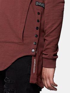 Sweats & Hoodies for men - The Sting - The Sting                                                                                                                                                                                 More Fashion Details, Fashion Design, Hoodies For Men, Mens Sweatshirts, Depeche Mode, Sport Wear, Hoody, Tie Dye, Street Wear