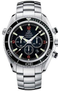 Omega Men's 2210.51.00 Seamaster Planet Ocean Automatic Chronometer Chronograph Watch for only $5,295.00 You save: $905.00 (15%)