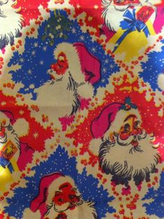 ORIGINAL VINTAGE CHRISTMAS Gift WRAPPING PAPER UNUSED 23 SHEETS 1970s | eBay