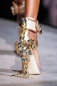 See the most gorgeous detail shots and closeups from Fashion Week - including this one from DSquared