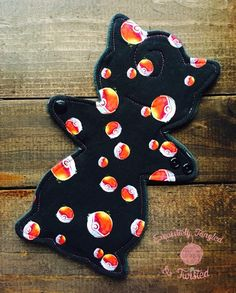 The Happy Hippos 9  Wiggly Puff Cloth Pad PDF Sewing