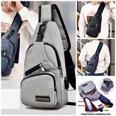 Messenger Bag Men, Short Trip, Make A Gift, Sling Backpack, Gym Bag, Nfl, Crossbody Bag, Backpacks, Yoga