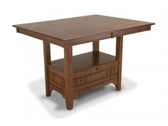 brunswick pub table bobu0027s discount furniture 299 expandable storage space