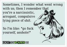 compulsive lying p.o.s.