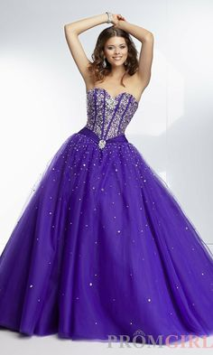 Gorgeous 2014 Purple Pink White Prom Dresses/Gown With Beads Crystals Lace-up Long Ball Gown Long Quinceaneara / Party Dress $173.00