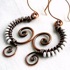 Wire Wrapped Copper
