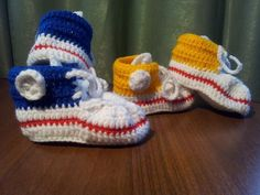 knitted gumshoes for my baby