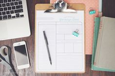 Printable Daily To Do list - Are you feeling the need to get more organized? Download this free printable daily to do list and keep reading for a few quick tips to make the most of your time and have a more productive day