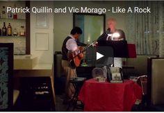 Dr. Patrick Quillin and Vic Morago. Hotel Indigo, Del Mar.