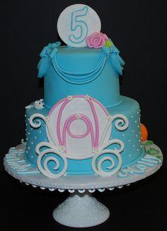 Cinderella Theme Birthday Cake by cjmjcrlm (Rebecca), via Flickr