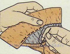 Forma de coser un puño básico 3
