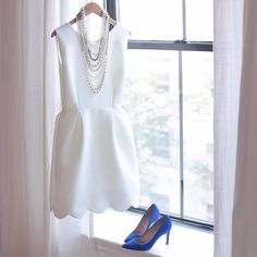 J. Crew little #white #dress #whitedress