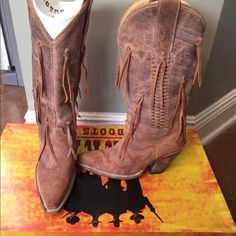Corral Boots Corral Boots, size 6. Worn a handful of times. Great condition. Corral Shoes Ankle Boots & Booties
