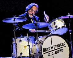 Max Weinberg playing with his big band